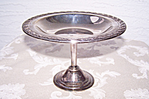 Silver Plate Compote