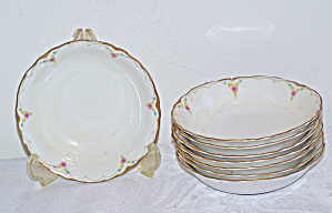 8 Small POPE-GOSSER China Dessert/Berry BOWLS (Image1)