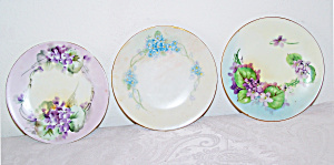 3 Small Decorative Plates, Bavaria  (Image1)