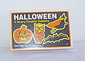 HALLOWEEN 4 +1 Scary Cookie Cutters, FOX RUN Craftsmen (Image1)