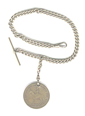 EXCELSIOR SHOE CO. WATCH FOB, 1910 (Image1)