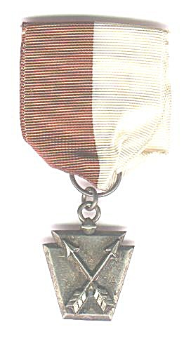 RIBBON AND ARCHERY MEDAL, 1948 (Image1)