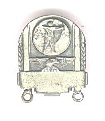 ARCHERY SCREW BACK MEDAL (Image1)