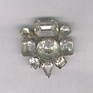LARGE CLEAR STONES PIN (Image1)