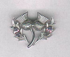 Scottish Flower Pin