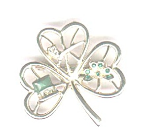 B. J. THREE LEAF CLOVER PIN (Image1)
