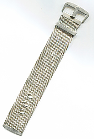 Gold Mesh Belt/buckle Bracelet