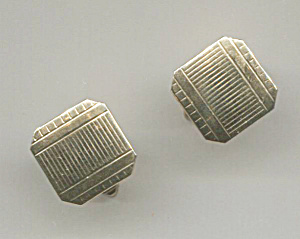 Pr. Gold Tone Cuff Links