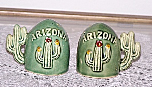Arizona Cactus Salt & Pepper Shakers
