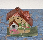 Click here to enlarge image and see more about item 1879a: GERMANY CHRISTMAS HOUSE