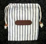 DELTA CLOTH DRAW STRING BAG