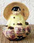 Click to view larger image of ORIENTAL GIRL PLANTER (Image1)