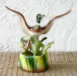Click here to enlarge image and see more about item 4293: MALLARD DUCK PLANTER, DURAN