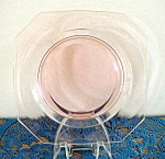 Click here to enlarge image and see more about item 5819a: PALE PINK SALAD PLATE