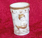 Click to view larger image of NAPCOWARE ALABASTRO Cup with 2 MERMAIDS (Image2)