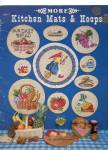 Click here to enlarge image and see more about item 6385c: MORE KITCHEN MATS & HOOPS CROSS STITCH LEAFLET
