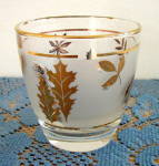 Click to view larger image of 6 LIBBEY GOLDEN FOLIAGE TALL TUMBLERS (Image2)