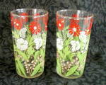 Click here to enlarge image and see more about item 6402l: PAIR OF SWANKY SWIG GLASSES