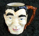 Click here to enlarge image and see more about item 6411j: MAN�S FACE MUG
