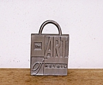 Click here to enlarge image and see more about item 6518c1: HALLMARK, THE ART OF RETAIL METAL LOGO