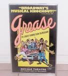 Click here to enlarge image and see more about item 6564n: GREASE, ROYALE THEATRE POSTER