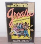 Click to view larger image of GREASE, ROYALE THEATRE POSTER (Image2)