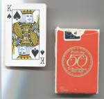 Click here to enlarge image and see more about item 6616f: DELTA AIR LINES PLAYING CARDS