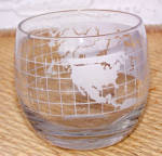 Click to view larger image of OLD WORLD GLOBE GLASS SUGAR BOWL (Image2)