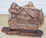 Click here to enlarge image and see more about item 6633c: PHILIPPINES SOUVENIR PEN HOLDER