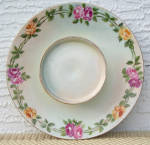 T&V LIMOGES FRANCE 2 TIERED SERVING BOWL