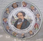 Click here to enlarge image and see more about item 6644b: Royal Doulton Dickens Portrait Plate