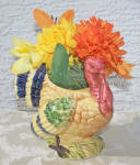 Click here to enlarge image and see more about item 6645h: Turkey Planter, Japan