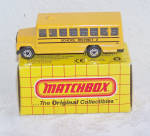 Click here to enlarge image and see more about item 6680d: MATCHBOX Diecast SCHOOL BUS with Original Box, 1993
