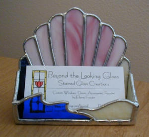 Sea Shell Business Card Holder (Image1)