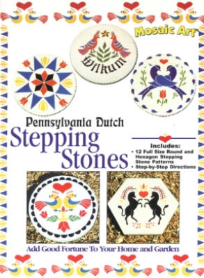 Pennsylvania Dutch Hex Sign Stepping Stones (Image1)