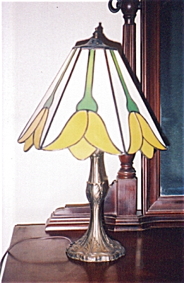 Yellow Tulips Lamp