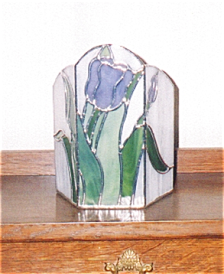 Purple Tulip Candle Shelter (Image1)