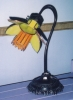 Click to view larger image of Unique Daffodil Desk Lamp with Gooseneck Base (Image2)
