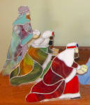 Click to view larger image of Stained Glass Christmas Nativity (Image3)
