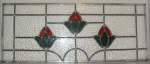 Click to view larger image of Victorian-Style Leaded Glass Panel (Image1)