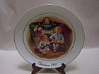 Avon Christmas 1983 Collector Plate