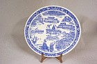 Vernon Kilns Wisconsin Collector Plate
