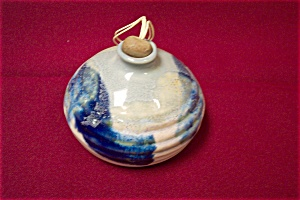 Artist Handmade Bulbous Pottery Bottle (Image1)
