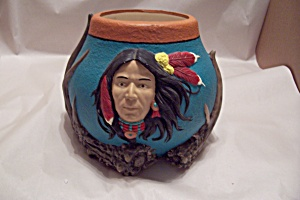 Native American Ceramic Bowl (Image1)