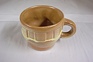 Frankoma Wagon Wheel Pattern Cup