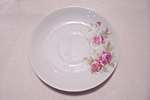 Occupied Japan Rose Pattern Saucer (Image1)