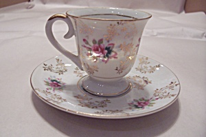 Wales Demitasse Cup & Saucer