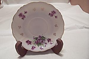 Lefton Floral Pattern Saucer (Image1)