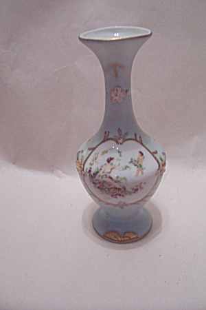 Vintage Handpainted & Decorated Porcelain Bud Vase (Image1)