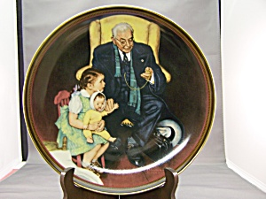 Norman Rockwell Tender Loving Care Collector Plate